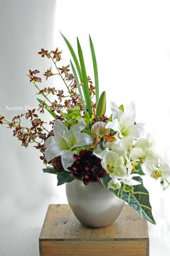 モデルルームの装花いろいろ_f0215262_00134689.jpg