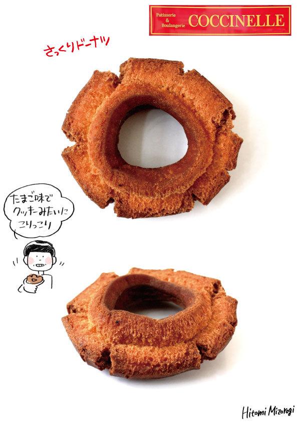 【沼袋】コクシネル「さっくりドーナツ」【クッキーみたいにサックサク】_d0272182_17292890.jpg