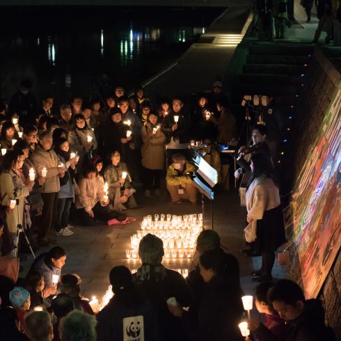 EARTH HOUR 2018 HIROSHIMA 「灯りを消してこの星の未来を思う60分」_f0099102_15331659.jpg