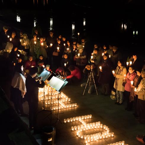 EARTH HOUR 2018 HIROSHIMA 「灯りを消してこの星の未来を思う60分」_f0099102_15342052.jpg
