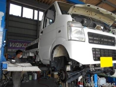 アゲトラ キャリイトラック車検・ポルテは納車整備中(^▽^)_c0213517_13571208.jpg