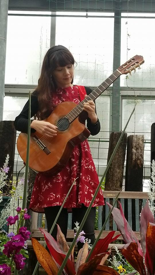 農業文化園戸田川緑地さくらまつり温室ギターコンサート2018_f0373339_15431374.jpg