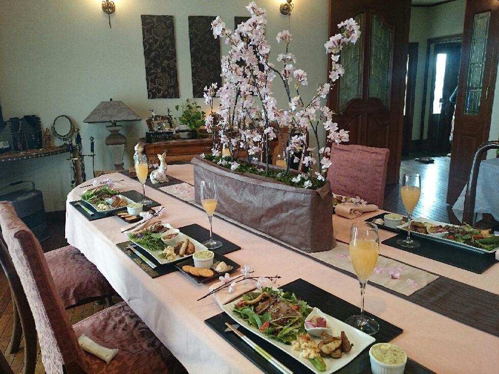 お花見料理教室最終週です。_f0323446_23511137.jpg