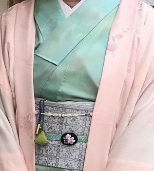 北野をどり・春色の羽織のキティさん・桜尽くしのお客様_f0181251_16321537.jpg