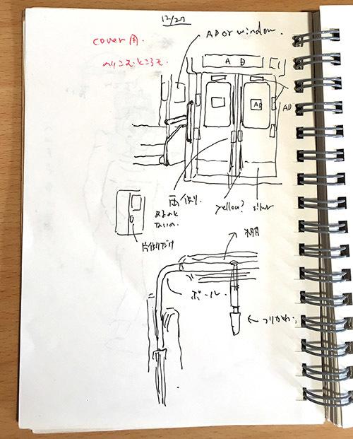 『でんしゃにのるよ ひとりでのるよ』3/27発売:その1・電車のこと_e0026053_17085472.jpg