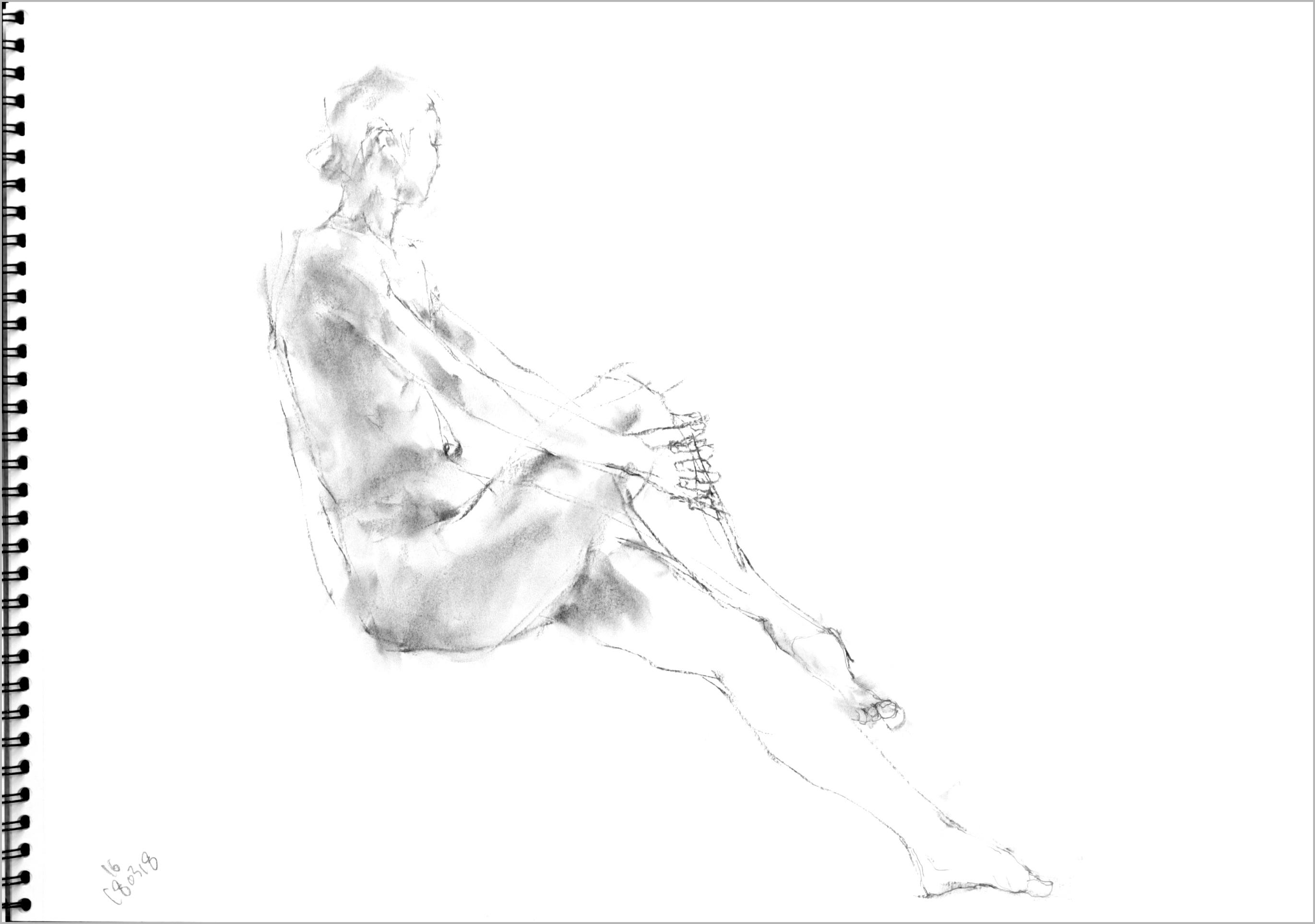 《 「三月弥生裸婦素描」11  》_f0159856_08433917.jpg