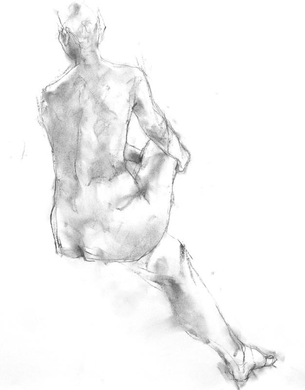 《 「三月弥生裸婦素描」11  》_f0159856_08590442.jpg