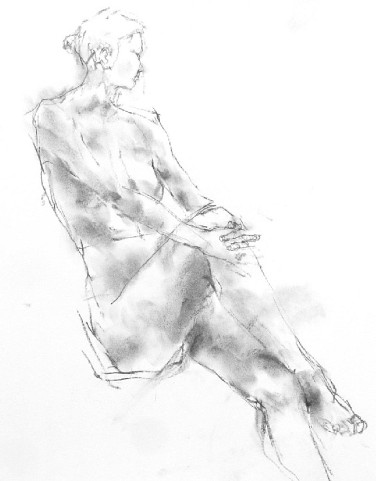 《 「三月弥生裸婦素描」8  》_f0159856_18193593.jpg