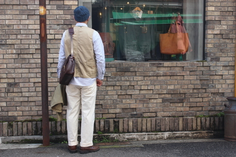 "WORKERS (ワーカーズ)  \""Cruiser Vest\""  ご紹介_f0191324_08182443.jpg"