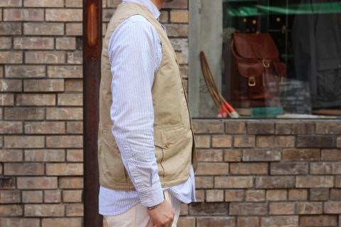 "WORKERS (ワーカーズ)  \""Cruiser Vest\""  ご紹介_f0191324_08190663.jpg"