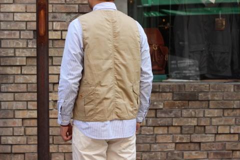 "WORKERS (ワーカーズ)  \""Cruiser Vest\""  ご紹介_f0191324_08191693.jpg"