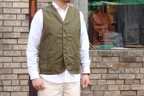 "WORKERS (ワーカーズ)  \""Cruiser Vest\""  ご紹介_f0191324_08204424.jpg"