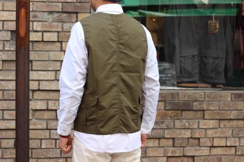 "WORKERS (ワーカーズ)  \""Cruiser Vest\""  ご紹介_f0191324_08210664.jpg"