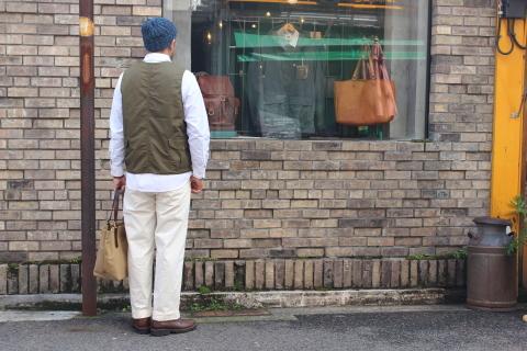 "WORKERS (ワーカーズ)  \""Cruiser Vest\""  ご紹介_f0191324_08225871.jpg"