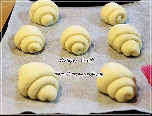 手作りバターロールでロールサンド弁当とイチゴ酵母♪_f0348032_17075613.jpg