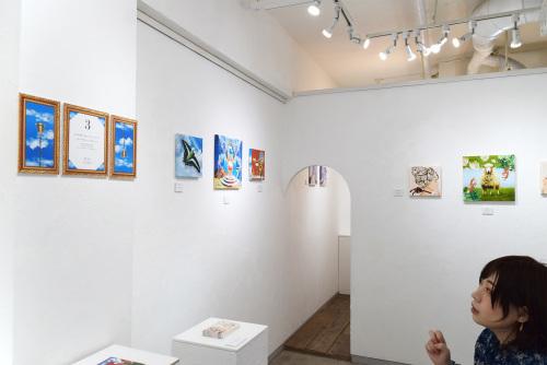 満季美香初個展「3」@最終日_e0272050_13553272.jpg