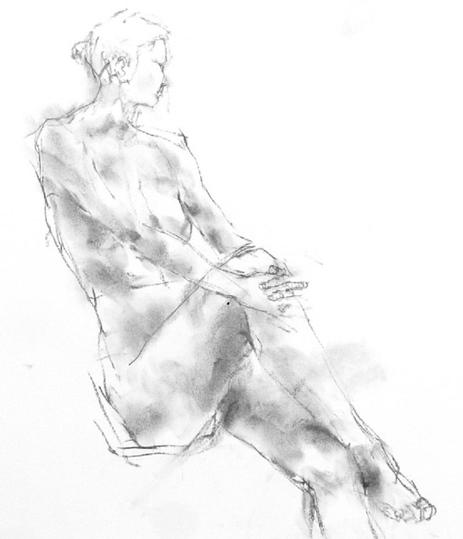 《 「三月弥生裸婦素描」7  》_f0159856_07153030.jpg