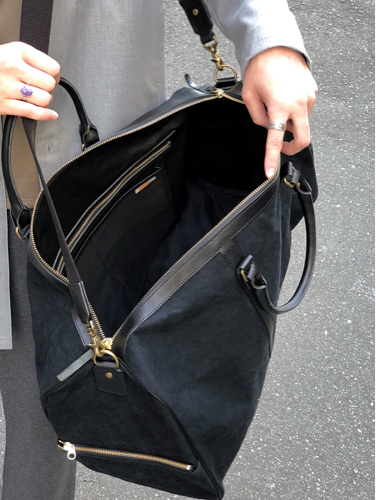 "【suolo】""Cruise\"" -black×black leather-_d0227059_10181633.jpg"
