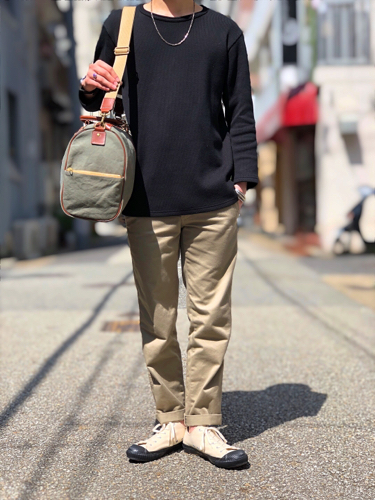 "【suolo】""Cruise\"" -rust×brown leather-_d0227059_10463689.jpg"