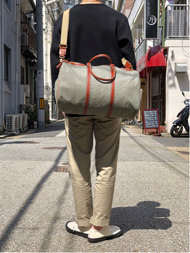 "【suolo】""Cruise\"" -rust×brown leather-_d0227059_10464293.jpg"