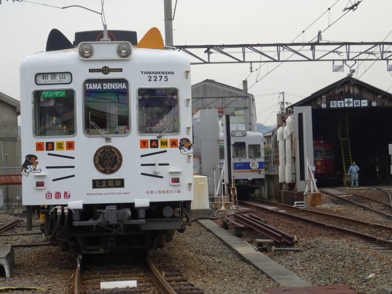 たま電車&紀州鉄道・・・てっちゃんに連れられて_c0108460_22580033.jpg