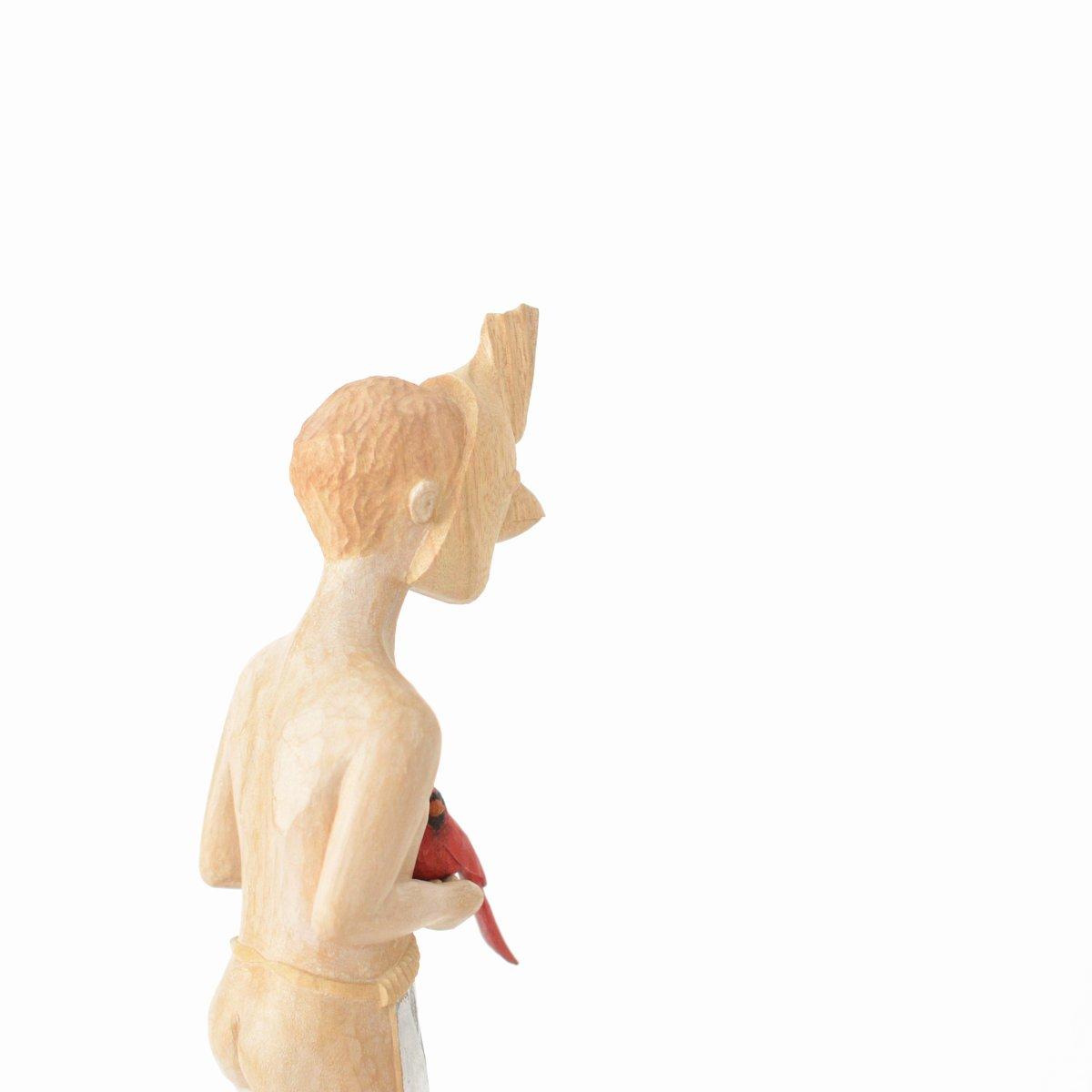 「 西浦裕太 木彫刻展 」 5日目_d0087761_22164527.jpg