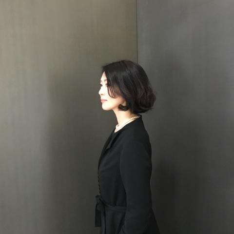 【丹後ちりめん】 robe noire in  鈴木大拙館_e0334462_16265860.jpg