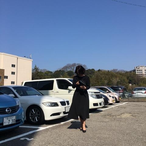 【丹後ちりめん】 robe noire in  鈴木大拙館_e0334462_16331503.jpg