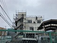 木工事完了 足場ばらし_c0331470_00053896.jpg
