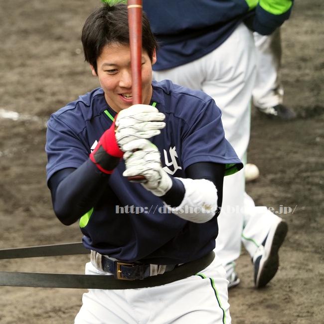 山田哲人選手、2018浦添キャンプその9_e0222575_854507.jpg