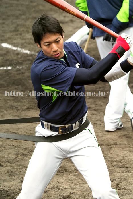 山田哲人選手、2018浦添キャンプその9_e0222575_8573220.jpg
