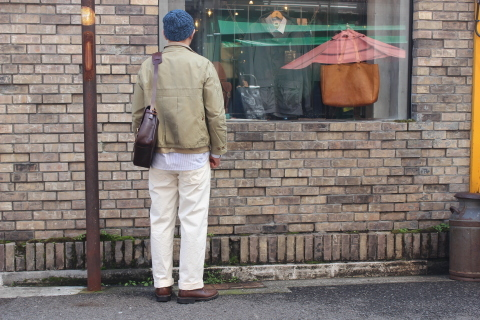 "WORKERS (ワーカーズ)  ""Wide Spread Shirt\"" ご紹介_f0191324_07401624.jpg"