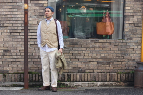 "WORKERS (ワーカーズ)  ""Wide Spread Shirt\"" ご紹介_f0191324_07403009.jpg"