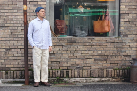 "WORKERS (ワーカーズ)  ""Wide Spread Shirt\"" ご紹介_f0191324_07410608.jpg"