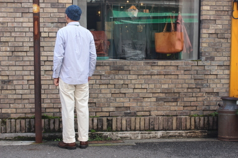 "WORKERS (ワーカーズ)  ""Wide Spread Shirt\"" ご紹介_f0191324_07411697.jpg"