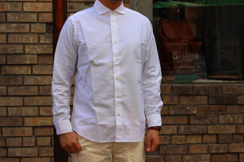 "WORKERS (ワーカーズ)  ""Wide Spread Shirt\"" ご紹介_f0191324_07440440.jpg"