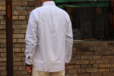 "WORKERS (ワーカーズ)  ""Wide Spread Shirt\"" ご紹介_f0191324_07442560.jpg"