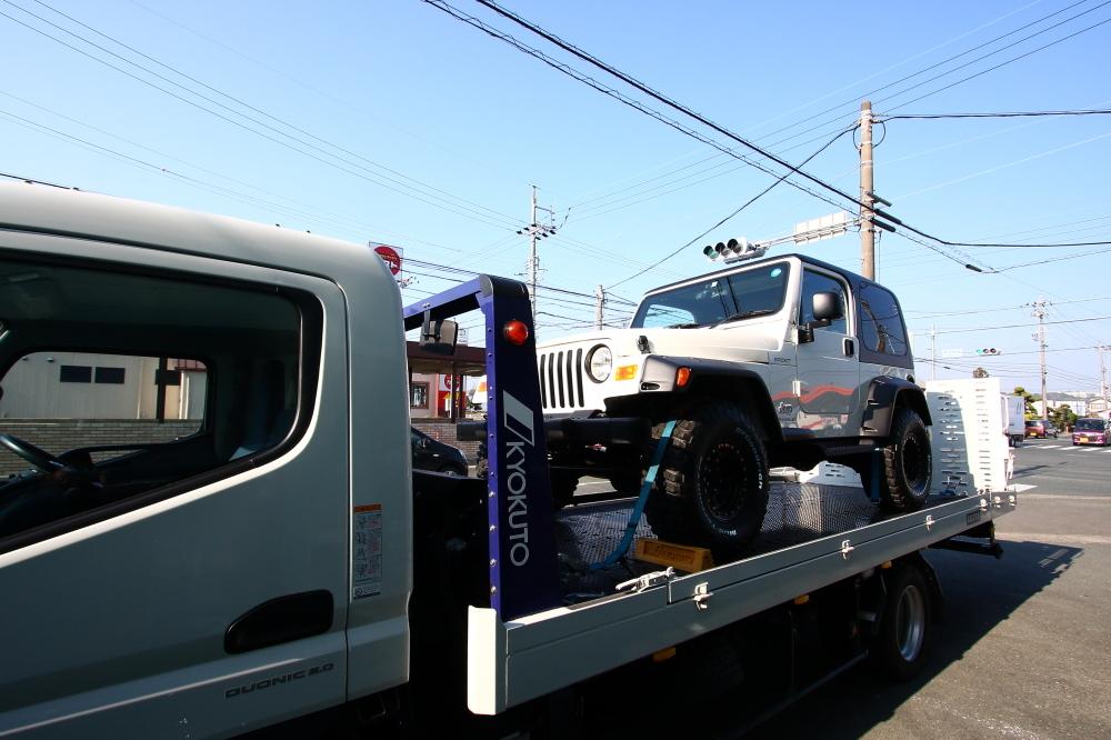 神奈川県 ホワイトTJご納車完了いたしました_f0105425_18461246.jpg