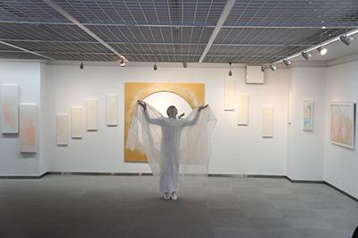 佐藤千穂「 Chijo Sató Arte  La Luz 」開催中です!_f0171840_16035043.jpg