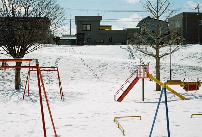 すでに消えた雪上の足跡_c0182775_16514573.jpg