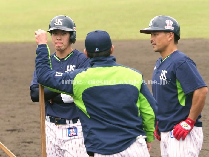 山田哲人選手、2018浦添キャンプその11_e0222575_15422563.jpg