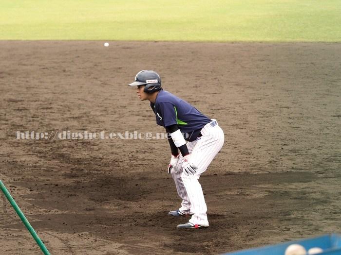 山田哲人選手、2018浦添キャンプその11_e0222575_15431346.jpg