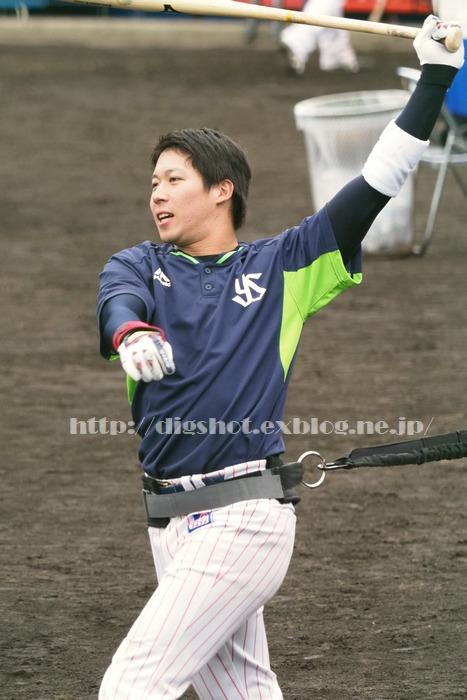 山田哲人選手、2018浦添キャンプその11_e0222575_15502169.jpg