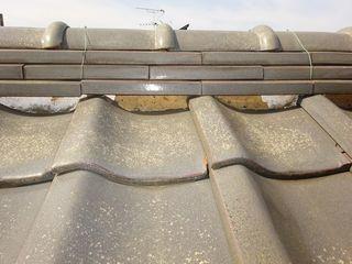 北区の志茂で、屋根瓦修理工事_c0223192_21121598.jpg