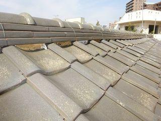 北区の志茂で、屋根瓦修理工事_c0223192_21121996.jpg