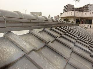 北区の志茂で、屋根瓦修理工事_c0223192_21122838.jpg