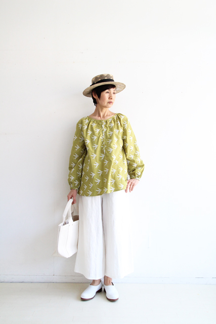 SWALLOW EMBROIDERY HENLY SHIRTS_f0215708_11164053.jpg