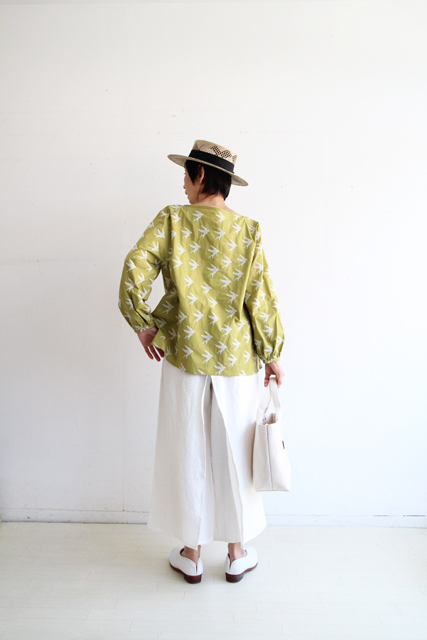SWALLOW EMBROIDERY HENLY SHIRTS_f0215708_11164260.jpg