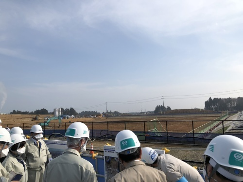 『福島第一原発と中間貯蔵施設』の調査視察_f0259324_10025199.jpg