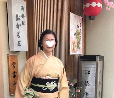 北野をどり・地元京都のお客様・おかもとさんの紅梅弁当_f0181251_1892226.jpg